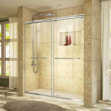 DreamLine Charisma Shower Door RS39 60 01 22B Center Drain E