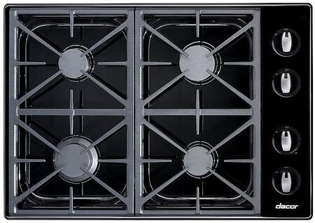 Dacor RGC304BLP  Liquid Propane Sealed Burner Style Cooktop