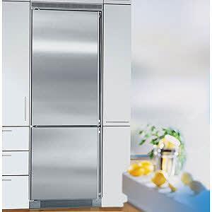 Liebherr C1651  Counter Depth Bottom Freezer Refrigerator with 15.5 cu. ft. Capacity in Stainless Steel