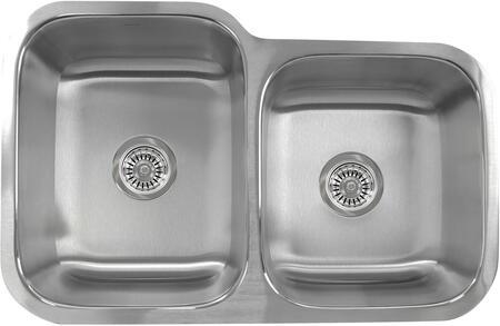 Nantucket NS604018 Brushed Satin Kitchen Sink