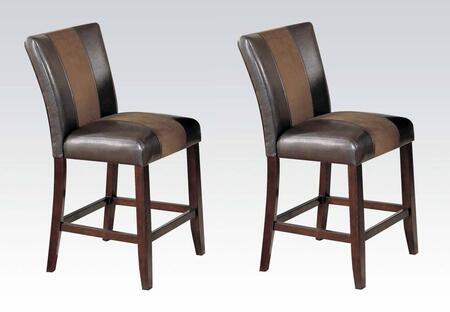 Acme Furniture 17049 Britney Series Bonded Leather Upholstered Bar Stool