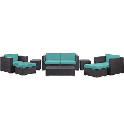 Modway Venice Patio Sofa Set
