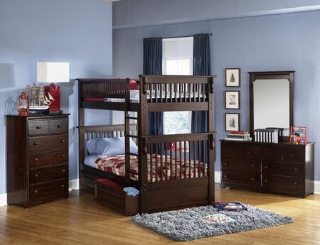 Atlantic Furniture COLOTTAW Colorado Series  Bed