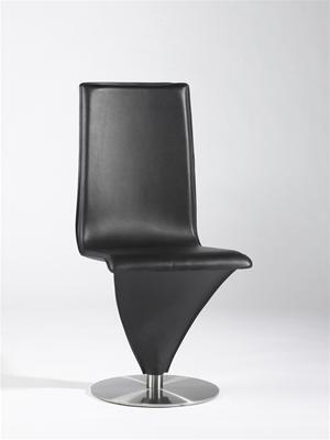 Chintaly EIFFELSCBLK  Dining Room Chair