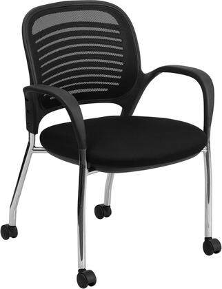 "Flash Furniture LFX8BBKGG 24"" Contemporary Office Chair"