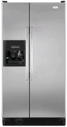 Whirlpool ED2DHEXWL  Side by Side Refrigerator with 21.7 cu. ft. Capacity in Satina Stainless Look