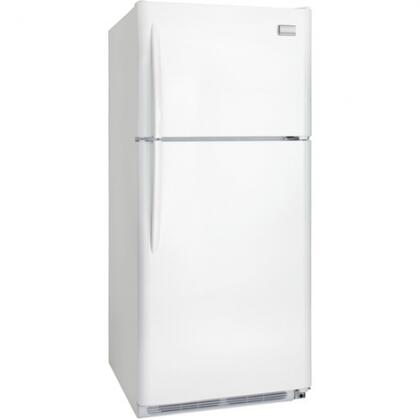 Frigidaire FGHT2134KW Gallery Series Freestanding Top Freezer Refrigerator with 20.61 cu. ft. Total Capacity 3 Glass Shelves 5.26 cu. ft. Freezer Capacity
