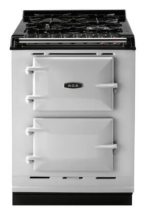 """AGA ACMPLPPLA 24"""" Companion Series Dual Fuel Freestanding Range with Sealed Burner Cooktop, 1.5 cu. ft. Primary Oven Capacity,"""