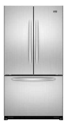 Maytag MFF2558VEM  French Door Refrigerator with 24.8 cu. ft. Total Capacity 5 Glass Shelves