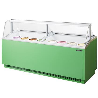 "Turbo Air TIDC91G 91"" Commercial Ice Cream Freezer"