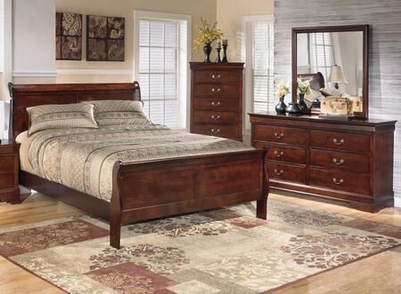 Milo Italia BR530QSLBDM Huerta Queen Bedroom Sets