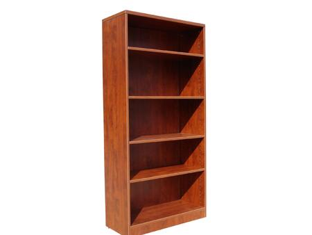 "Boss N158 65"" Bookcase with 3mm PVC Banding"