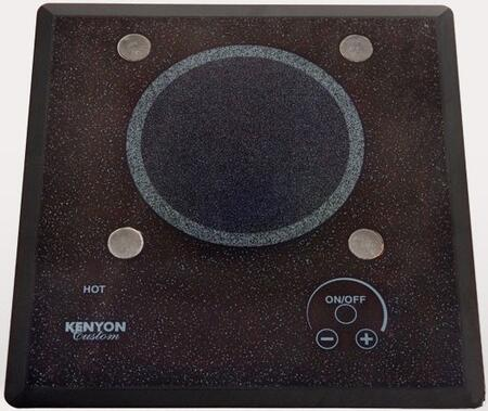 """Kenyon B40571PUPS 12"""" Lite-Touch Q Series 1 Element Electric Cooktop, in Black"""