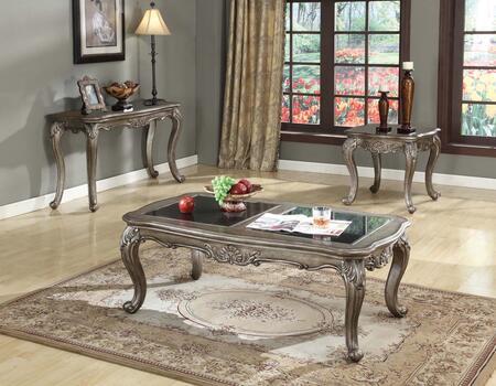 Acme Furniture 80540CES Chantelle Living Room Table Sets