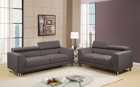 Global Furniture U8210DEPALMABELUGASOFAL U8210 Living Room S