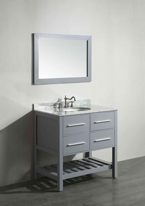"""Bosconi SB2503X 36"""" Single Vanity"""