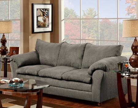 Chelsea Home Furniture 471150SFG Gail Series Stationary Polyester Sofa