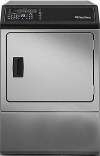 """Speed Queen ADGE9BSS 27""""  7.0 cu. ft. Gas Dryer, in Stainless Steel"""