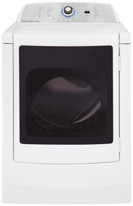 "Frigidaire FARG4044MW 27"" 7 cu. ft. Gas Dryer, in White"