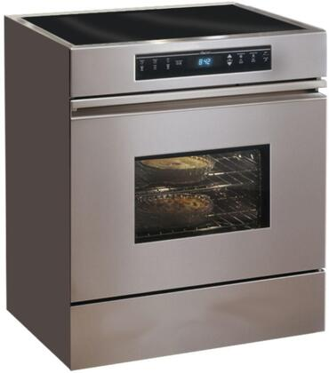 "Dacor MRES30S 30"" Renaissance Series Slide-in Electric Range with Smoothtop Cooktop, 3.9 cu. ft. Primary Oven Capacity, in Stainless Steel"