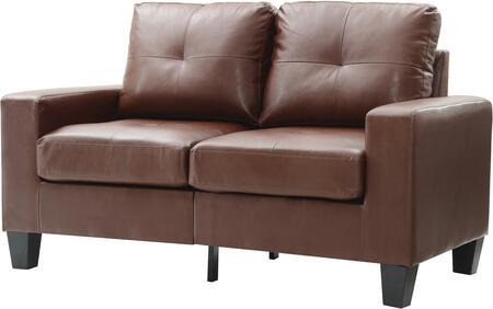 Glory Furniture G467AL Newbury Series Faux Leather Modular Loveseat