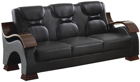 Glory Furniture G483S  Stationary Faux Leather Sofa