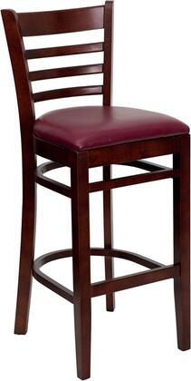Flash Furniture XUDGW0005BARLADMAHBURVGG Hercules Series Contemporary Vinyl Wood Frame Dining Room Chair