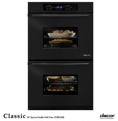 "Dacor EORD230B 30"" Double Wall Oven, in balck"