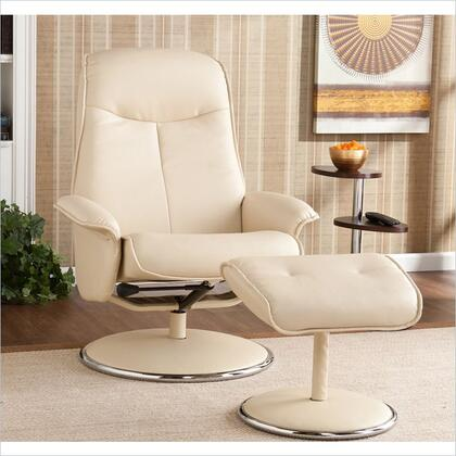 Holly & Martin 85174046114 Contemporary Bonded Leather Metal Frame  Recliners