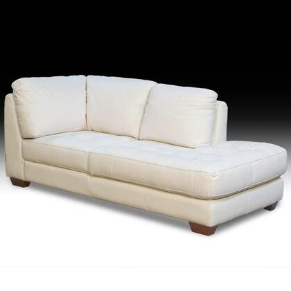 Diamond Sofa ZENRFCHAISEW  Sofa in White |Appliances Conncetion