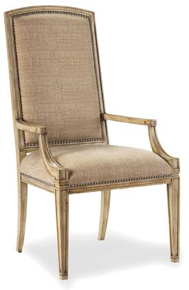 Hooker Furniture 3002-754 Sanctuary Series Casual-Style Dining Room Mirage Chair(Sold in 2 Chairs per Order/Priced Individually), Dune