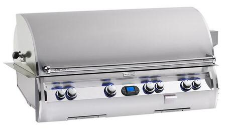 FireMagic E1060I-4L1X Echelon Diamond Series Built In X Grill,1056 Sq. in. Cooking Area with Hot Surface Ignition a Rotisserie Backburner and Left Burner: Stainless Steel