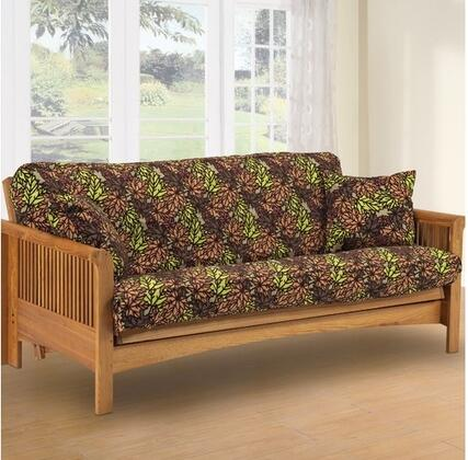 Lifestyle Solutions MBKMOQNSET Traditional Futon