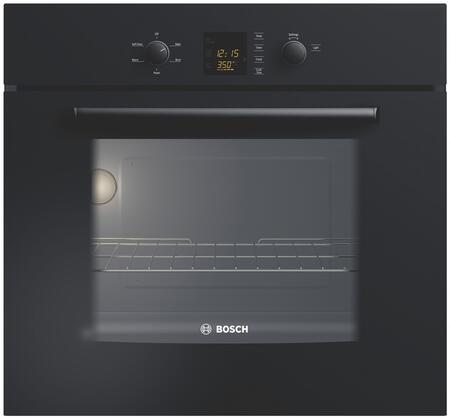 Bosch HBL3360UC Single Wall Oven, in Black