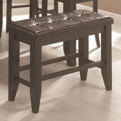 Coaster 102727 Page Series Kitchen Armless Wood Bench