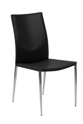 Euro Style 17224BLK Max Series  Dining Room Chair