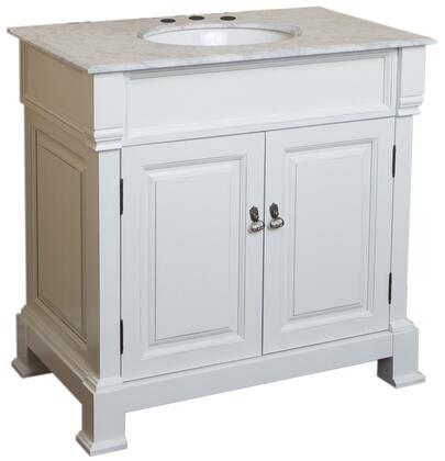 "Bellaterra Home 205036 36"" Single Sink Vanity - Wood"