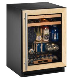 """U-Line 2175BEVCOL00 23.94"""" Built-In Wine Cooler"""