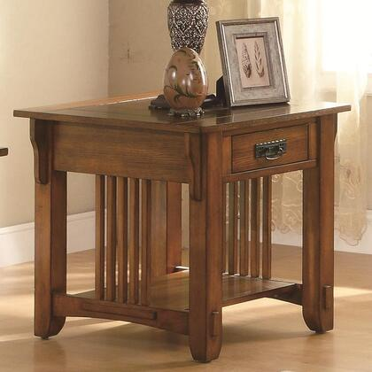 Coaster 702007 702 Series Mission Rectangular End Table