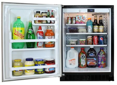 "Marvel 6ARMWWFL Built In All Refrigerator Yes 5.29 cu. ft. No 23.875"" Compact Refrigerator 