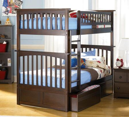 Atlantic Furniture AB55114  Twin Size Bunk Bed