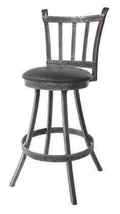 Stone County Ironworks 952065FAUXLZB  Bar Stool