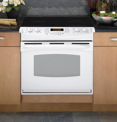 GE PD900DPWW Profile Series Slide-in Electric Range with Smoothtop Cooktop 4.4 cu. ft. Primary Oven Capacity