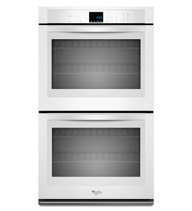 "Whirlpool WOD51EC0AW 30"" Double Wall Oven, in White"