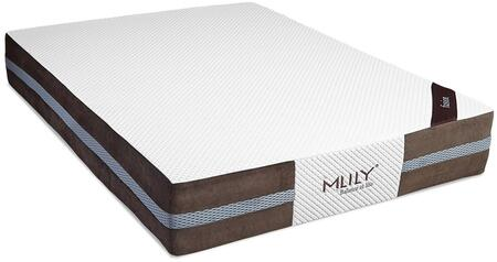 MLily FUSION12Q Fusion Series Queen Size Memory Foam Top Mattress