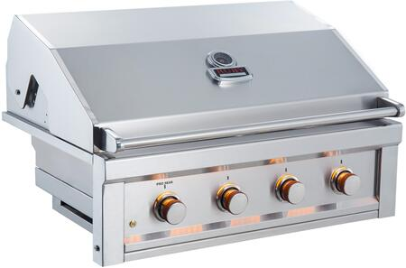 4 Burners 36 in. Gas Grill