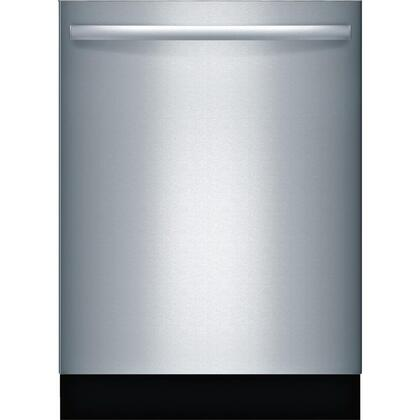 "Bosch SGX68U55UC 24"" 800 Series Built In Fully Integrated Dishwasher with 3rd Rack, 15 Place Settings Place Settingin Stainless Steel"