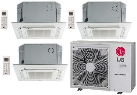 LG 704514 Triple-Zone Mini Split Air Conditioners