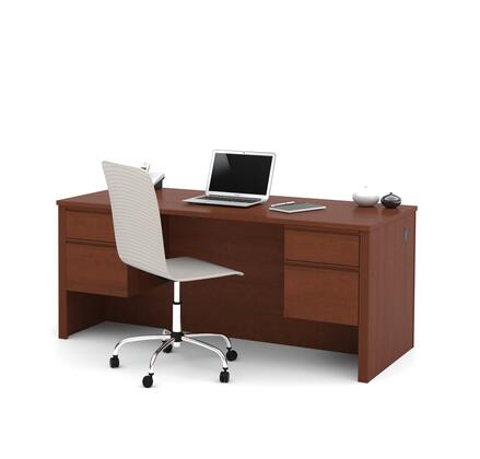 Bestar Furniture 99450 Prestige + Executive Desk with Dual Half Peds