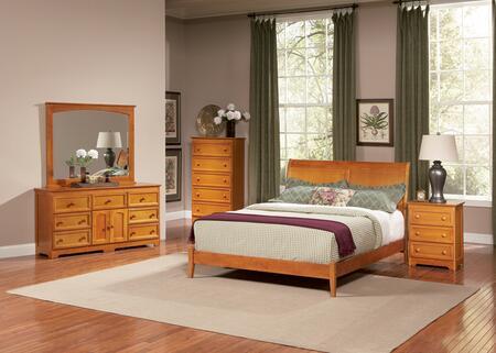 Atlantic Furniture BOROFAWFL  Full Size Bed
